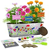 Paint & Plant Flower Growing Kit - Kids Gardening Science Gifts for Girls and...