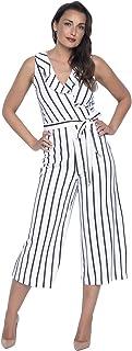4affe24014e Frank Lyman Women s Jumpsuit Style 186893 White Black