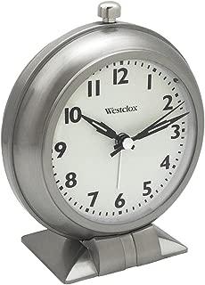 Westclox Analog Metal Big Ben Alarm Clock Silver