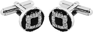 Izaara 92.5 silver sterling Hallmark Silver Fashion Paire Cufflinks Men's Jewellery