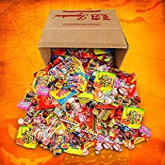 HUGE assortment of candies. Great for Halloween trick or treat, Christmas, parties, carnivals, pinatas, or any occasion for sugary treats. Several Popular Flavors including Twizzlers, Original Skittles, Berry Skittles, Double Bubble Nerds, Strawberry...