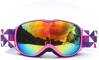 TPU PC Children'S Double Layer Permanent Anti Fog Ski Goggles Mountaineering Goggles Winter Ski Goggles