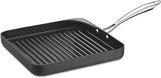 Cuisinart greengourmet 硬质氧化不粘锅煮锅带盖子 黑色 11-Inch