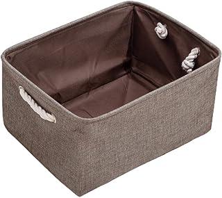 Kuashidai Panier à linge pliable pour protéger les vêtements de la poussière et de l'humidité, panier de rangement pour jo...