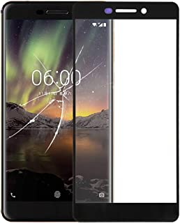 WTYD Mobile Phone Lens Glass Front Screen Outer Glass Lens for Compatible with Nokia 6 2018/6.1 SCTA-1043 TA-1045 TA-1050 ...