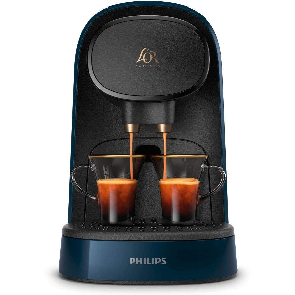 Philips cápsulas CAFETERA Express LM8012/41 LOR Barista Azul (Doble CAPUSLA), 1 Liter, Plástico: Amazon.es: Hogar