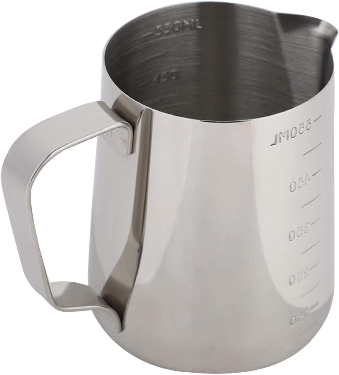 Ranking TOP5 Coffee Jug with Scales Frothing Measuri gift Stainless Steel Pitcher