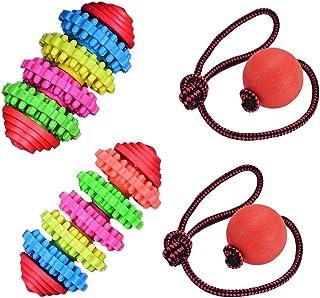 WENTS Pet Dog Chew Rope Toys Set Dog Toys Puppy Teeth Cleaning Training Toy Durable Pet Puppy Rope Chew Toy Set Regalos Dentición Cuerda Juguete para Perros Pequeños, Medianos y Grandes