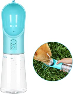 Dog Water Bottle Portable Pet Water Bottle Leak Proof Dog...