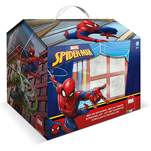 Multiprint – Spiderman – Loisir Tampon en Caoutchouc Big Box (Lot de 12)