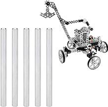 5Pcs Stainless Steel D‑Shaft Bar DIY Craft Tool 4101‑0006‑0080 Φ6mm Compatible for gobilda/TETRIX Robots
