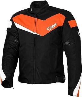 /Chaqueta de moto para Sprinter Ixon/ negro//naranja talla M