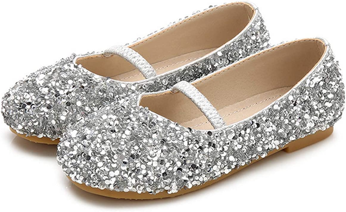 Translated LFHT Little Girl's supreme Adorable Sparkle Princess Party Mary Jane Dre