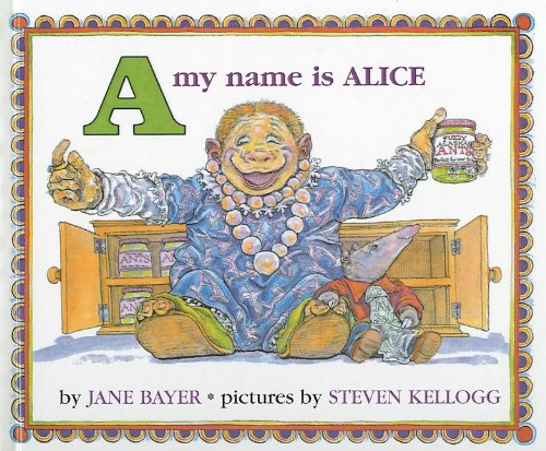 A MY NAME IS ALICE (Picture Puffin Books)