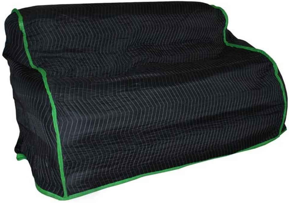 US Free shipping New Easy-to-use Cargo Control Quilted Love Cover Seat Furniture Pad -
