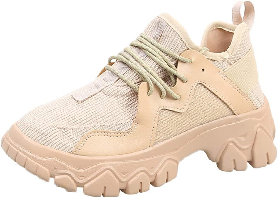 JXILY Casual Shoes Womens Walking Shoes Comfort Anti Slip Road Running Shoe Ladies Trainer Outdoor Fitness Athletic Sport