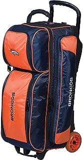 KR Strikeforce Licensed NFL Triple Roller Bowling Bag