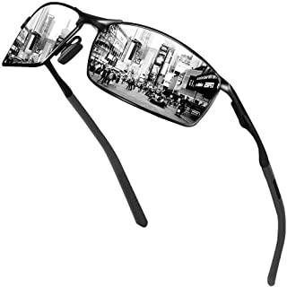 Sunmeet Occhiali da sole sportivi polarizzati da uomo - occhiali da sole da guida per uomo e donna S1008