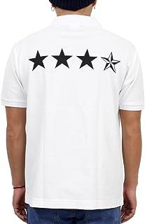 (リアルコンテンツ) REALCONTENTS ポロシャツ メンズ 半袖 星 柄 スター ロゴ カジュアル カノコ プリント ポロシャツ rcsp1251