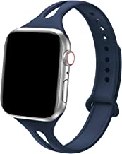 Bandiction Sport Band Compatible with Apple Watch 38mm 40mm, Soft Silicone Sport Strap..