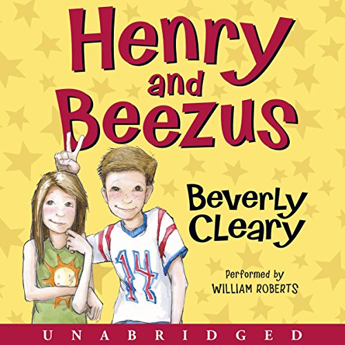 Henry and Beezus audiobook cover art