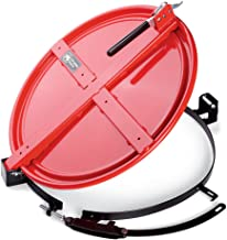 New Pig Latching Drum Lid with Fast-Latch Ring, For 55 Gallon Steel Drum, Easiest Installing Latching Drum Lid, 26