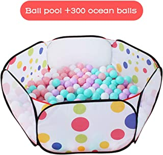 ALUS- Portable Ocean Ball Pool Children's Home Toys Indoor Fence Collapsible Game Pool