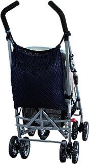 Sunnybaby 19177Carrito para bebé con red para la compra, protección y cierre de alamares, color azul marino