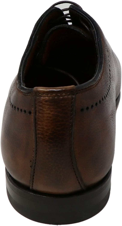 Bontoni Men's Brera Oxford Shoes Ankle-High Leather