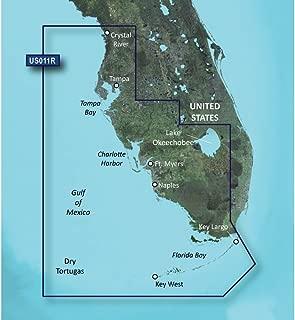GARMIN VUS011R SOUTHWEST FLORIDA BLUECHART G2 VISION GARMIN VUS011R SOUTHWEST FLORIDA BLUECHART G2