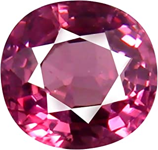 0.71 ct AAA+ Grade Oval Shape (5 x 5 mm) Unheated Pink Malaya Garnet Natural Loose Gemstone