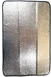 PetriStor 16 X 25 SunShield RV Reflective Door Window Cover- Helps Protect Your RV from Harmful UV Rays and Regulates RV Temperature