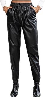 Woohooens Damen Hose Casual Herbst Winter Skinny Stretch Jeans High Waist Strumpfhose Mit Fleece GefüTterte Stretchhose Se...