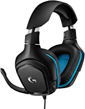 Logitech G432 DTS:X 7.1 Surround Sound Wired PC Gaming Headset (Leatherette)