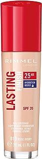 Rimmel Lasting Finish, Fondotinta 25 hr Wear, Light Porcelain - 30 ml