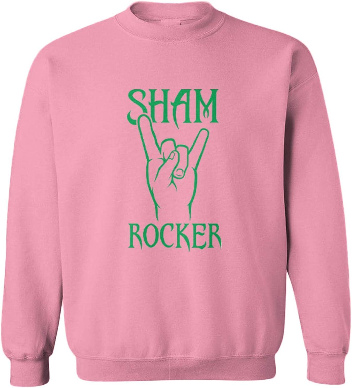 Sham Rocker - Rock Popular N Roll Crewneck Fleece Shamrock 5 popular Sweat Toddler