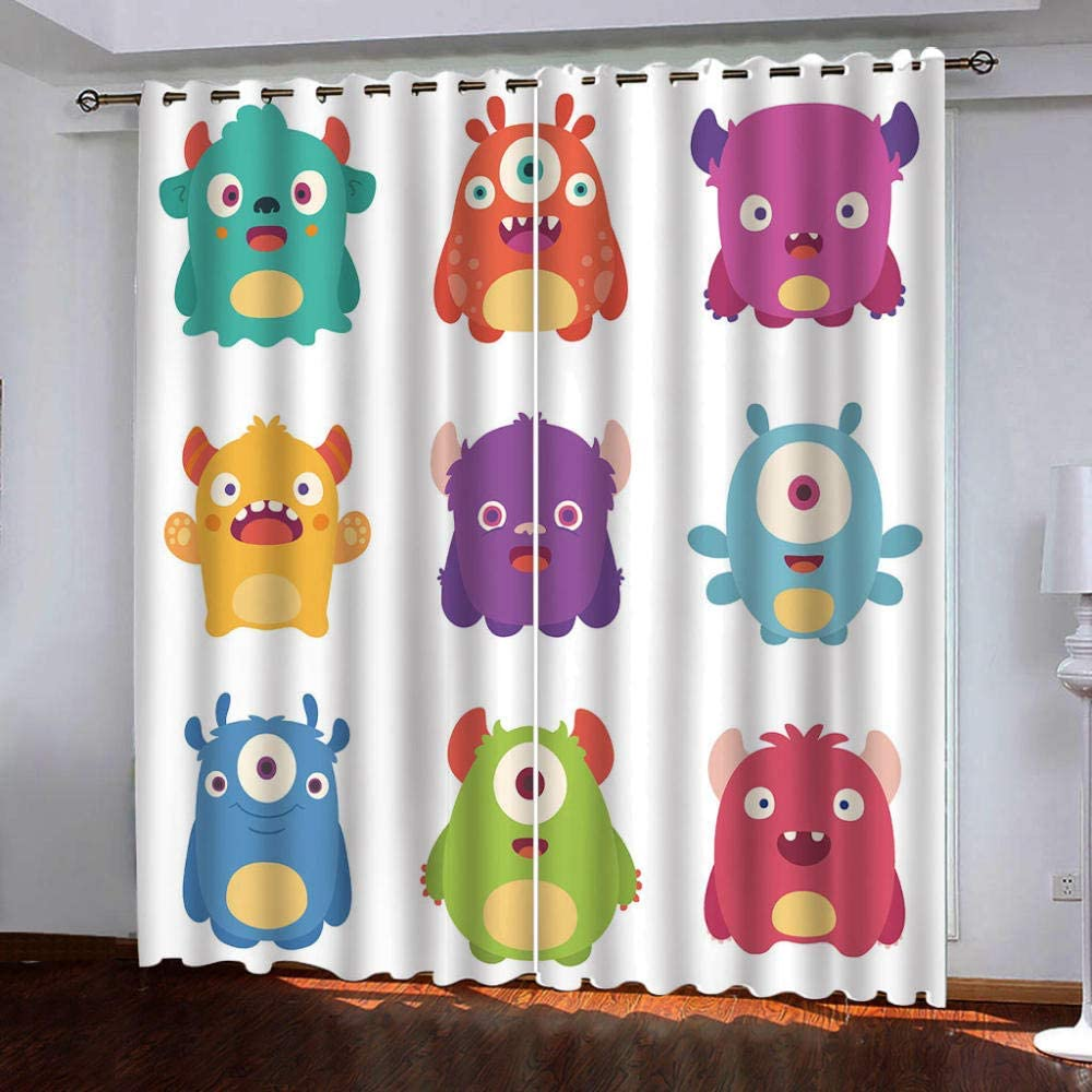 Blackout Curtains,Cartoon Pictures Ranking San Jose Mall TOP16 Insulated Thermal Shades