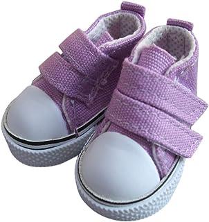 babysbreath17 1 Zapatos de Lona muñeca Par 5 cm seakers mu