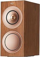 KEF R3 Series Passive 3-Way Bookshelf Speakers, Pair - Walnut (Renewed)
