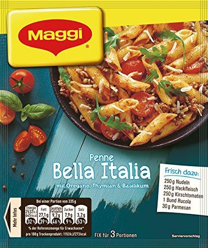 Maggi fix und frisch für Penne Bella Italia, 20er Pack (20 x 27 g)