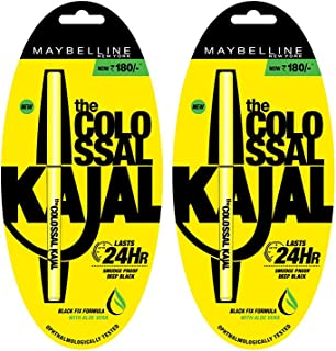 Maybelline New York Colossal Kajal Promo (At 30% Off, Pack of 2)