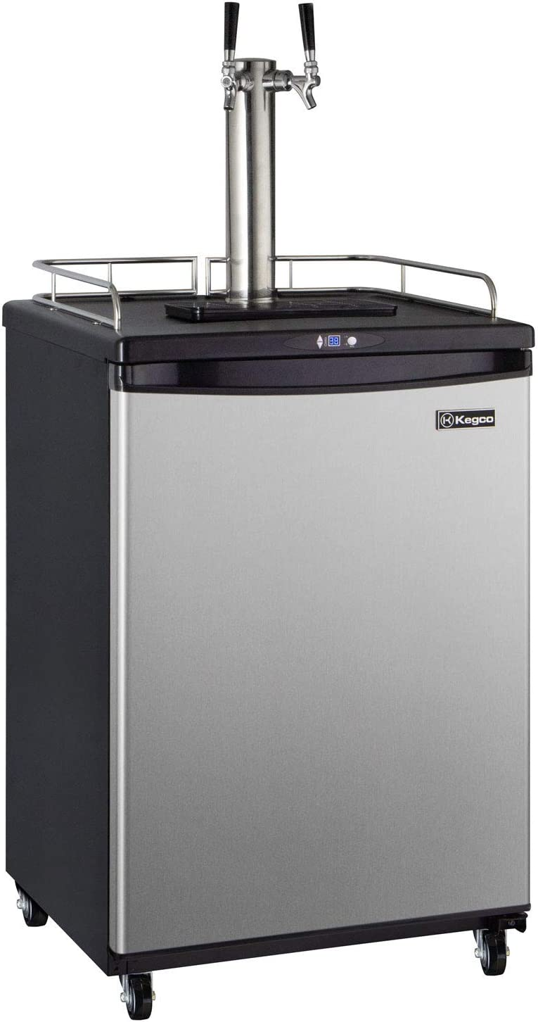 Kegco Keg Dispenser Two Selling and selling Faucet Stainless Steel Max 87% OFF