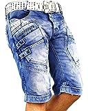 RedBridge Herren Shorts W32, Blau