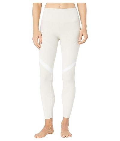 ALO 7/8 High-Waist Alosoft Shelia Leggings (Bone Htr/Bone/White) Women