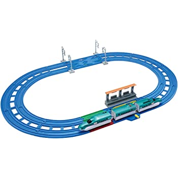 タカラトミー(TAKARA TOMY) プラレール レーンがクロス! E5系新幹線 はやぶさベーシックセットW290×H230×D125mm