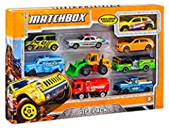 Gift pack assortment has a variety of vehicles to keep kids entertained for hours! Contains 1 exclusive vehicle with decos you can't find anywhere else in the line! 9 stunning cars come in each set! Collect all the sets and showcase the ultimate flee...