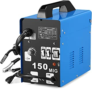 SUNGOLDPOWER MIG 150A Welder Flux Core Wire Automatic Feed Welding AC Welder Gasless..
