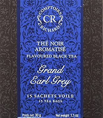 Comptoirs Richard Thé Noir Grand Earl Grey 15 Sachets 30 g parent
