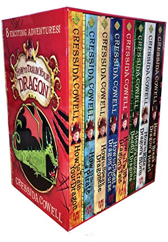 How to Train Your Dragon 8 Books Collection Box Set by Cressida Cowell