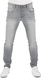 riverso RIVCaspar - Jeans da uomo slim fit, in denim elasticizzato, colore nero, blu, grigio, w29 w30 w31 w32 w33 w34 w36 w38
